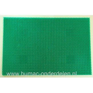 Deurmat -Grasmat 58,5 cm x 39 cm voor binnen en buitenshuis een kunstgras mat is decoratief  en functioneel uitstekend te gebruiken als entreemat, schoonloopmat, Inloopmat, Droogloopmat, Binnenmat, Buitenmat, Antislipmat Weerbestendig