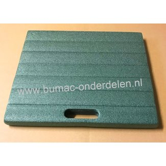 Multifunctioneel kussen met handvat  35x30x3 cm voor huis- en tuinwerkzaamheden- of thuis of onderweg- kniebescherming - kussen voor onder de knie- kniemat - tuinknielkussen
