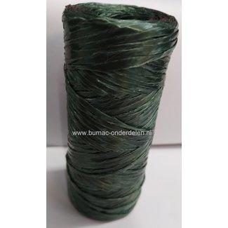 Kunststof Raffia, 100m, bindmateriaal, klimhulpmiddel,  oersterk, decoratiemateriaal, Dit sterke touw gebruikt u voor verschillende doeleinden, zoals het opbinden van klimplanten, Bindtouw