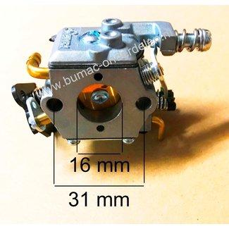 Carburateur voor Komatsu Zenoah G3800, G4100 Kettingzaag Carburator voor onder andere Komatsu Zenoah G 3800 - G 4100 Motorzagen