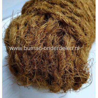 Natuurlijk kokostouw, scheurvast en weerbestendig,  25 meter in een bundel. Voor het opbinden van takken, maar ook decoratief of als boomband te gebruiken. Door zijn natuurlijke eigenschappen is het kokostouw sterk en weersbestendig. Milieuvriendelijk Kok