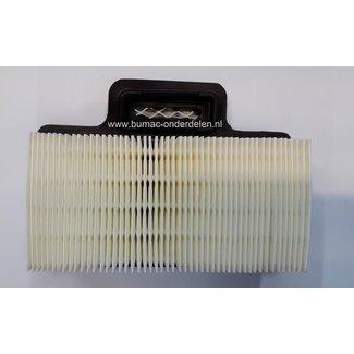 Luchtfilter voor Wacker Sleuvenstamper Trilstamper BS50-2, BS50-2i, BS50-2 plus, BS50-4 As, BS60-2, BS60-2i, BS60-4 As, BS65-V, BS70-2, BS70-2i, BS70-4 As