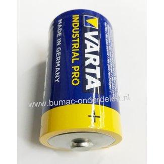 Varta LR14 1,5V Industrial Pro Alkaline Batterij Mono D de alkaline batterij zeer betrouwbaar en perfect voor Professioneel en Thuis gebruik De voordelen van de Varta Industrial Pro: Zeer Hoge Capaciteit  - Kwaliteit - Gaan Lang Mee IE-C Norm LR14, MN1400