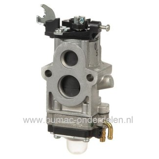 Carburateur voor Kawasaki TJ053, TJ53 Bosmaaier, Bermmaaier, Trimmer, KAWASAKI Vergasser TJ-053, Walbro Carburator voor Motor Heggenschaar, Snoeischaar