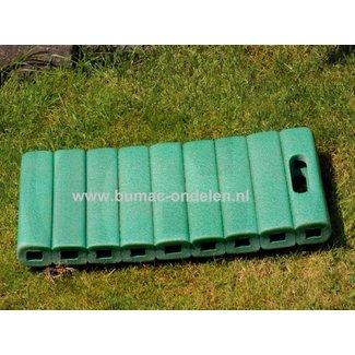 Knie-en zitkussen met handvat  41x20x4,5 cm voor huis- en tuinwerkzaamheden- of thuis of onderweg- kniebescherming - kussen voor onder de knie- kniemat - tuinknielkussen - Multifunctioneel kussen