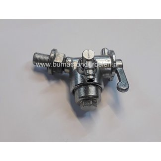 Benzinekraan  voor ROBIN EY15 Motoren, Brandstofkraan op Aggregaat, Trilplaat, Generator, Waterpomp, Tuinfrees, Kart Robin EY 15