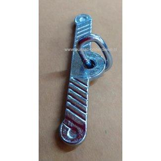 Knevel 4 mm met lid Verzinkt Bevestigingsmateriaal, Schalmketting, kabels en koorden Veeketting, halsbanden en toebehoren