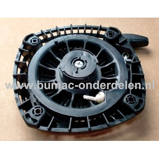 Starter Compleet ROBIN SUBARU voor EX-24, EX-27, EY-27  Motoren op Sleuvenstamper, Trilstamper, Wacker, Trilplaat, Generator, Houtversnipperaar, Waterpomp, Compressor, Bladblazer, Verticuteermachine, Veegmachine, Kantensnijder