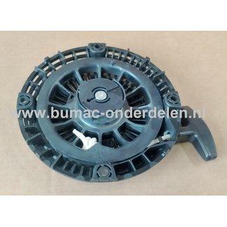 Starter Compleet ROBIN SUBARU voor EX-17, EX-20, EX-21, SP-170, SP210 voor Motoren op Sleuvenstamper, Trilstamper, Wacker, Trilplaat, Generator, Houtversnipperaar, Waterpomp, Compressor, Bladblazer, Verticuteermachine, Veegmachine, Kantensnijder
