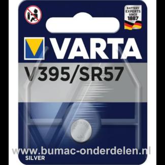 Varta Silver V395/SR57 Knoopcelbatterij 1,6 Volt De Knoopcelbatterijen zijn zeer betrouwbaar en perfect voor Professioneel en Thuis gebruik De Knoopcelbatterijen komen voor op horloges, elektronisch speelgoed, zaklampen, weegschalen en andere alledaagse a