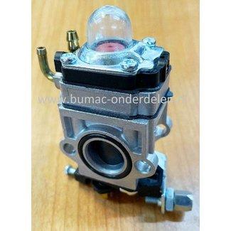 Carburateur Compleet voor KUBOTA - MITSUBISHI TL43, TL52, TB43, TB50, D430, D520 Motoren op Bosmaaiers, Carburator
