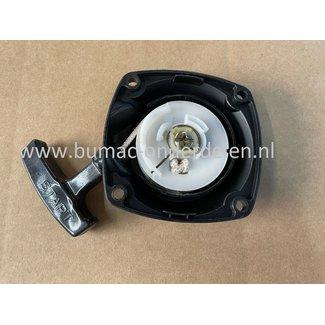 Starter Compleet voor HUSQVARNA 142R, 153R, KOMATSU ZENOAH G43L, G45L, BC5400WE, Bosmaaiers, Trimmers, Motorzeis, Handstarter, Starter