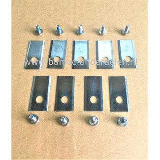 Messenset voor Yardforce Robotmaaiers, SA500ECO, SC600ECO, SA900, SA600H, SA800PRO, Robot Grasmaaiers, Maairobots, SA 500 ECO, SC 600 ECO, SA 900, SA 600 H, SA 800 PRO