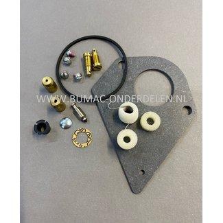 Carburateur reparatieset voor Briggs, Stratton Motoren I/C 12,5 pk Silencieux, Diamond I/C 13 pk Zitmaaier - Frontmaaier - Tuintrekker