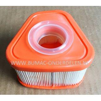 Luchtfilter voor BRIGGS & STRATTON Grasmaaier 115P02, 115P05, 123P0B, 123P02, 123P07, 123P32, 125P02
