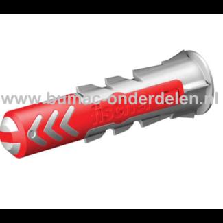 Muurplug 8X65 mm voor Baksteen, Beton, Gipsplaat, Kalkzandsteen, Cellenbeton, Spaanplaat, Gipsblokken, Natuursteen, Plug Activeert Optimale Werkingsprincipe: Spreiden - Vouwen - Knopen, Afhankelijk van de Ondergrond, De vertande anti-rotatievleugels voork