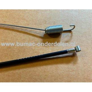 Koppelingskabel voor HONDA FG-320, FG320 - PUBERT PRIMO Tuinfrees Hakfrees Verticuteermachines kooimaaier aandrijvingskabel