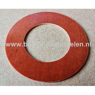 Sluitring  32x57x1,5 mm voor Toro Grasmaaiers, Zitmaaiers, Tuintrekkers Drukring, Sluit Ring, Fiberring Binnen 32 mm, Buiten 57 mm