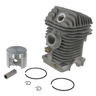 STIHL Cilinder met Zuiger Compleet voor Motorkettingzaag 023, 025, MS230 en MS250 Kettingzaag - Motorzaag, Stihl Complete Cilinderset Ø 42,5 mm met Zuigerveren