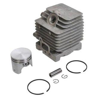 STIHL Cilinderset Ø 34 mm voor FC75 - FC85 - FH75 - FR85 - FR85T - FS80 - FS80R - FS85 - FS85RX - FS85T - HL75 - HL75K - HT70 - HT75 - KA85R - KM85 - KM85R - KW85 - SP81 - SP85 - SP85K, Cilinder met Zuiger, Zuigerveren en Pistonpen Compleet