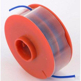 Spoel met draad voor Adlus en Bosch Strimmers, Draadspoel voor Trimmer met Nylon Maaidraad van 1,6 mm