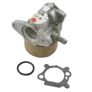 Briggs and Stratton Carburateur met Primer functie op Quantum en Europe motoren voor Grasmaaiers - Gazonmaaiers en Grasmachines.