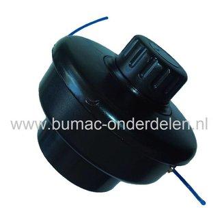 Maaikop met Draadspoel voor Stihl FS36 - FS50 - FE55 - FS60 Strimmer, Bosmaaier Met twee Nylon Maaidraden van 2 mm
