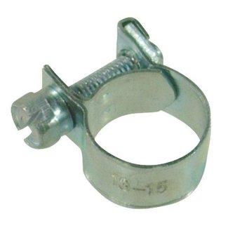 Slangklem Universeel 12-14 mm voor Grasmaaiers, Zitmaaiers, Frontmaaiers, Aggregaat, Trilplaat, Waterpomp, Generator