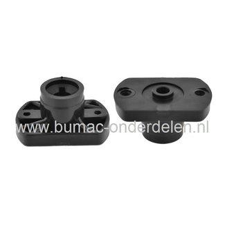 Castelgarden Meshouder PVC voor Elektrische Grasmaaier NG410 - NG460 - CL430 - CL480 - EL4800 - R430 - R480, Castel Garden - Stiga - Mountfield - Alpina, Grasmaaier - Loopmaaier - Electromaaier
