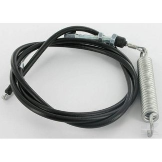 Koppelingskabel 117 Cm voor Castelgarden TCP102 - XT Serie ven Pt Serie Zitmaaiers, Tuintrekkers, Kabel voor inschakeling maaimessen voor Honda - Mountfield - Stiga - Dino - Alpina.