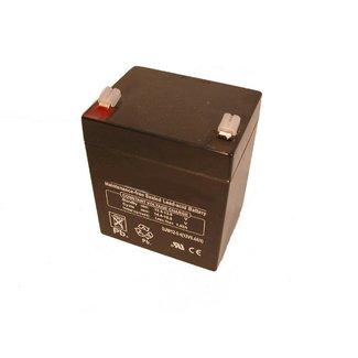 Accu 12V - 5 Ampere Drooggeladen voor Grasmaaiers, Trilplaten, Generatoren, Aggregaten, Waterpompen, Tuinfrees