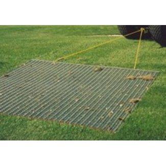 Sleepmat - Weidesleep - Tennisbaansleep 76x122 Cm achter Zitmaaier - Quad - Tuintrekker of Handgetrokken voor Tennisbanen en Sportvelden