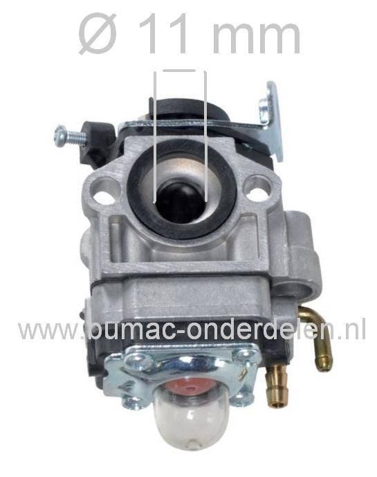 Carburateur voor onder andere Stiga - Castelgarden - Alpina - Mountfield -  Mitsubishi - Stihl - Husqvarna - Dolmar - Makita - Hitachi - Echo -