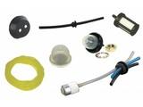 Benzineslang - BenzineFilters - Primers - Doorvoerrubbers voor Rug en Hand Gedragen Machines