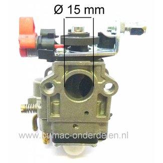 Carburateur voor OleoMac Bosmaaier Model 735 - 755, Oleo Mac Membraan Carburateur met Primer en Choke Functie