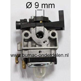 Carburateur voor HONDA GX25 en GX35 Motor op Bosmaaier - Bladblazer - Trimmer - Heggenschaar - Bermmaaier, Membraan Carburator