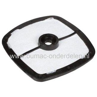 Luchtfilter voor Bladblazers Castelgarden - Stiga - Alpina - Mountfield, SBL260H - XBL260H, MBL260H - BL260H Lucht Filter