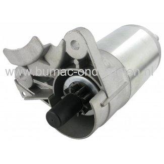 Startmotor voor GGP Motoren met 10 Tands Tandwiel, 12 t/m 16 PK, WM12 - WM12,5 - WM13,5 - WM14 - WM14,5 - TRE0701 - TRE0702 - TRE081 - TRE0801 Motor op Zitmaaiers - Frontmaaiers - Tuintrekkers, Elektrische Starter voor Castelgarden - Stiga - Mountfield -