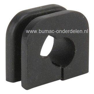Doorvoerrubber voor Bougiekabel CASTELGARDEN - STIGA - ALPINA - MOUNTFIELD Bosmaaiers - Strimmers - Bermmaaiers XB26J - XB34 - XBL260H - XR26 - BJ325 - BJ335 - BJ345 - MBCP254 - MBL260H, Klem voor Bescherming Bougie Kabels