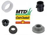 MTD - Wolf - Bolens - YardMan - CubCadet - White Bussen en Glijlagers voor Grasmaaier - Zitmaaier - Frontmaaier - Tuintrekker