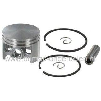 Zuigerset Ø 44 mm voor STIHL 026 en MS260 Kettingzaag - Motorzaag, Zuiger Compleet met Veren, Pistonpen en Borgclips voor Kettingzagen - Motorzagen van Stihl