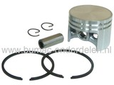 Stihl Zuigerset voor 020 - MS200 en MS200T Kettingzaag, Zuiger Compleet met Zuigerveren, Pistonpen en Borgclips voor Stihl Kettingzagen - Motorzagen