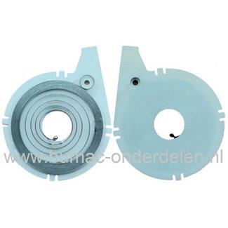 Starterveer voor Dolmar - Makita en Wacker, Bandenzaag - Doorslijpmachine, DPC6400 - DPC6401 - DPC6410 - DPC6411 - DPC7300 - DPC7301 - DPC7310 - DPC7311 - DPC7320 - DPC7321 - PC6212 - PC6214 - PC6412 - PC6414 - PC7314 - BTS930 - BTS935 - BTS1030 - BTS1035