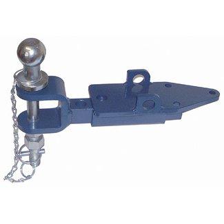 Aanhangwagenkoppeling met Trekhaakkogel voor Iseki en Kubota Tuintrekker - Zitmaaier, Aanhanger Koppeling met Kogelkoppeling