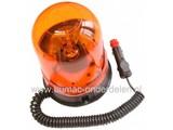 Zwaailicht 12V met Magneetbevestiging Zwaailamp voor Minikraan - Smalspoortrekker - Hoogwerker - Shovel - Bobcat - Graafmachine - Hijskraan - Trekker - Zitmaaiers