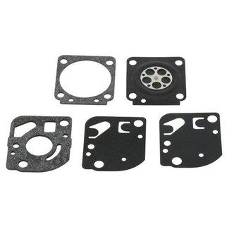 Membraan Reparatieset GND12 voor ZAMA Carburateur op Kettingzaag - Motorzaag - Bosmaaier - Bladblazer - Heggenschaar - Motorslijper, Membraam Reparatie Sets voor Zama Carburatoren C1U
