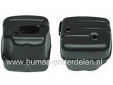 Uitlaat voor Husqvarna 340 - 345 - 346XP - 350, Jonsered 2141 - 2145 - 2149 Kettingzaag, Motorzaag, Knaldemper voor Husqvarna - Jonsered - Partner - McCulloch Kettingzagen, Motorzagen, Uitlaatdelen voor 2-takt Machines