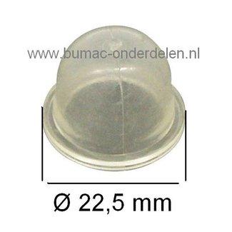 Zama Primer, Balg voor Carburateur op Kettingzaag, Bladblazer, Heggenschaar, Bosmaaier, Strimmer Benzinepomp