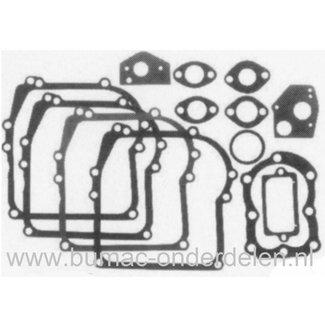 Pakkingset Briggs and Stratton Motoren met Horizontale Krukas 2 - 3,5 Pk op Kooimaaier, Trilplaat, Houtversnipperaar, Aggregaat, Pakkingen Set B&S, Dichtingen voor B en S Motoren