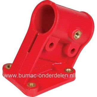 Bevestigingsklem voor Beschermkap 88013410 op Bosmaaier - Strimmers van Stiga - CastelGarden Mountfield SB 26 - BC390 - SBK 27 - SB 28 J - SB 33 D - SBK 35 - SB 44 en SBK 45